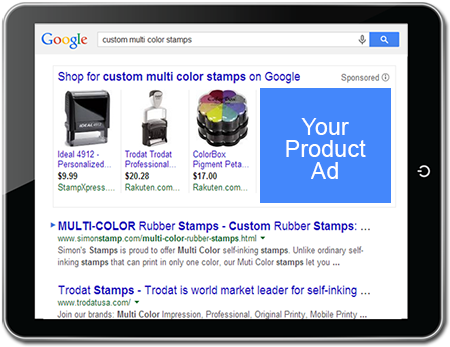 Google shows Product Listings