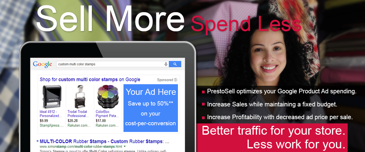 Sell More and Spend Less on Google product advertising